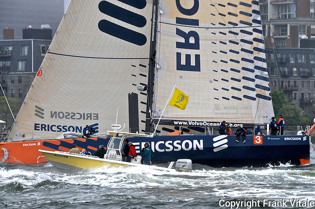 Ericsson Volvo Ocean Race Boston Start