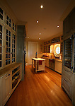 The Butler's Pantry off the kitchen at the home of Pete and Judi Dawkins in Rumson, New Jersey. CREDIT: Bill Denver for the Wall Street Journal..NYHODRUMSON