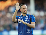 Gylfi Sigurdsson of Everton is introduced to the fans during the Europa League Qualifying Play Offs 1st Leg match at Goodison Park Stadium, Liverpool. Picture date: August 17th 2017. Picture credit should read: David Klein/Sportimage