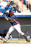 6 March 2007: Atlanta Braves infielder Yunel Escobar in Grapefruit League action against the Washington Nationals at Space Coast Stadium in Viera, Florida.<br /> <br /> Mandatory Photo Credit: Ed Wolfstein Photo