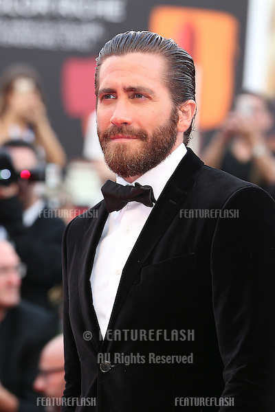 Jake Gyllenhaal at the Opening Ceremony, premiere of Everest at the 2015 Venice Film Festival.<br /> September 2, 2015  Venice, Italy<br /> Picture: Kristina Afanasyeva / Featureflash