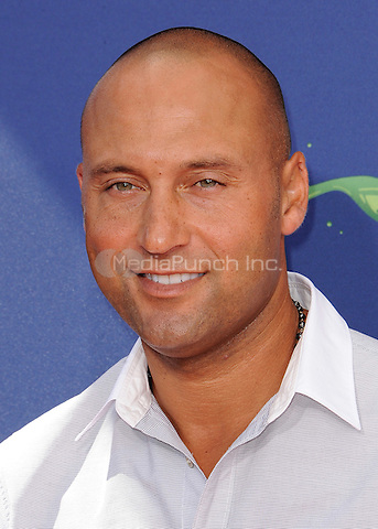 LOS ANGELES, CA - JULY 16:  Derek Jeter at the Nickelodeon Kids Choice Sports 2015 at the Pauley Pavilion on July 16, 2015 in Los Angeles, California. Credit: PGSK/MediaPunch