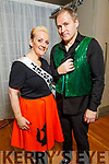 """Jill and JJ Coffey ready to dance at the Tralee Musical Society """"Strictly Come Dancing"""" Mr and Mrs in Ballyroe Heights Hotel on Saturday."""