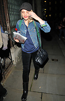 Evanna Lynch at the &quot;Disco Pigs&quot; theatre cast stage door departures, Trafalgar Studios, Whitehall, London, England, UK, on Thursday 10 August 2017.<br /> CAP/CAN<br /> &copy;CAN/Capital Pictures
