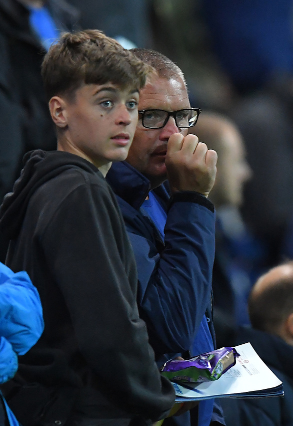 Fans<br /> <br /> Photographer Dave Howarth/CameraSport<br /> <br /> The Carabao Cup Third Round - Preston North End v Manchester City - Tuesday 24th September 2019 - Deepdale Stadium - Preston<br />  <br /> World Copyright © 2019 CameraSport. All rights reserved. 43 Linden Ave. Countesthorpe. Leicester. England. LE8 5PG - Tel: +44 (0) 116 277 4147 - admin@camerasport.com - www.camerasport.com