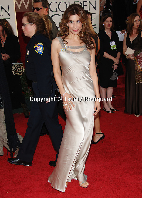 Jo Champa arriving at the Golden Globes Awards at the Beverly Hilton Hotel in Los Angeles. January 16, 2006.