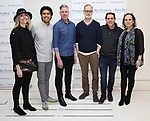 "Kirsten Guenther, J. Coner Navarro, Scott Rink, Jack Cummings III, Nolan Gasser and Mindi Dickstein during the meet the cast photo call for the Paper Mill Playhouse production of  ""Benny & Joon"" at Baza Dance Studios on 3/21/2019 in New York City."
