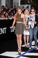 "Bella Thorne<br /> at the ""Divergent"" Los Angeles Premiere, Regency Bruin Theatre, Westwood, CA 03-18-14<br /> Dave Edwards/DailyCeleb.com 818-249-4998"