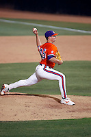 Ryan Hinson of the Clemson Tigers playing against the Arizona State Sun Devils in the NCAA Super Regional Tournament won by ASU at Packard Stadium, Tempe, AZ - 06/06/2009.Photo by:  Bill Mitchell/Four Seam Images