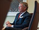 Brussels-Belgium - October 08, 2012 -- Rijkman W. J. GROENINK, former CEO of ABN AMRO Bank, now partner at Atlas N.V.; during a meeting / presentation at Atlas N.V. -- Photo: © HorstWagner.eu