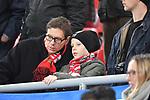 12.01.2018, BayArena, Leverkusen , GER, 1.FBL., Bayer 04 Leverkusen vs. FC Bayern M&uuml;nchen<br /> im Bild / picture shows: <br /> Fans, freundlich, Stimmung, farbenfroh, Nationalfarbe, geschminkt, Emotionen, <br /> <br /> <br /> Foto &copy; nordphoto / Meuter