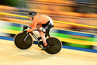 Picture by SWpix.com - 02/03/2018 - Cycling - 2018 UCI Track Cycling World Championships, Day 3 - Omnisport, Apeldoorn, Netherlands - Men's Sprint Qualifying - Harrie Lavreysen of The Netherlands