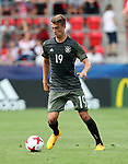 Germany's Janik Haberer in action during the UEFA Under 21 Semi Final at the Stadion Miejski Tychy in Tychy. Picture date 27th June 2017. Picture credit should read: David Klein/Sportimage