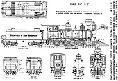 Scale drawing of D&amp;RG Class C-16.<br /> D&amp;RG    Taken by Giessel, J. Harold (draftsman)