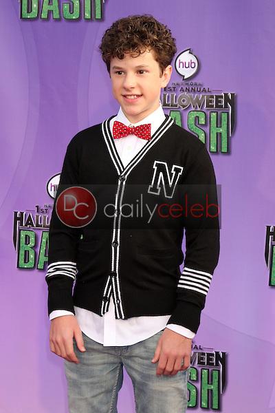 Nolan Gould<br /> at the Hub Network First Annual Halloween Bash. Barker Hangar, Santa Monica, CA 10-20-13<br /> David Edwards/Dailyceleb.com 818-249-4998