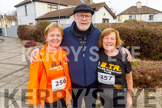 At the Charlie Kerins 10k in Kerins O'Rahilly's on Sunday morning<br /> L to r: Kathleen Curtin (Tralee), Martin Ferris and Mary Holly (Tralee)