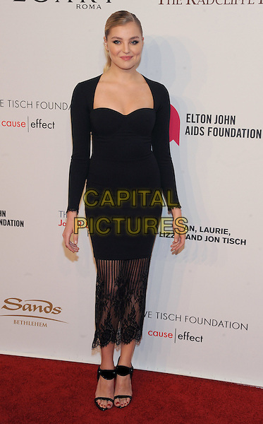 NEW YORK, NY - NOVEMBER 02: Rachel Hilbert attends 15th Annual Elton John AIDS Foundation An Enduring Vision Benefit at Cipriani Wall Street on November 2, 2016 in New York City.<br /> CAP/MPI/JP<br /> &copy;JP/MPI/Capital Pictures