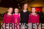 From Piarsaigh na Dromoda taking part in the South Kerry Final of Scór na bPaistí were l-r; Ciara O'Shea, Isabella Curran, Orla Daly & Abby Curran.