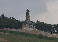 General view of R&uuml;desheimer Berg Roseneck Am Niederwald, R&uuml;desheim am Rhein, Hesse, Germany.<br /> <br /> Gesamtansicht der R&uuml;desheimer Berg Roseneck Am Niederwald, R&uuml;desheim am Rhein, Hesse, Deutschland.