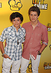 LOS ANGELES, CA - JUNE 05: Eric Unger and Billy Unger attend Disney's 'Let It Shine' Premiere held at The Directors Guild Of America on June 5, 2012 in Los Angeles, California.