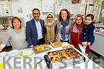At the Pakistani Cuisine and Eid Festival and Intercultural Culinary Programme in Mercy Mounthawk Secondary School on Thursday.<br /> L to r: Anita Bodenham, Dr Ameed Ur Rehman, Dr Fatima Halin, Rachel Fitzgerald (Chairperson of Mercy Mounthawk Parents Council), Qintar Ameed and Noor Ul Ain