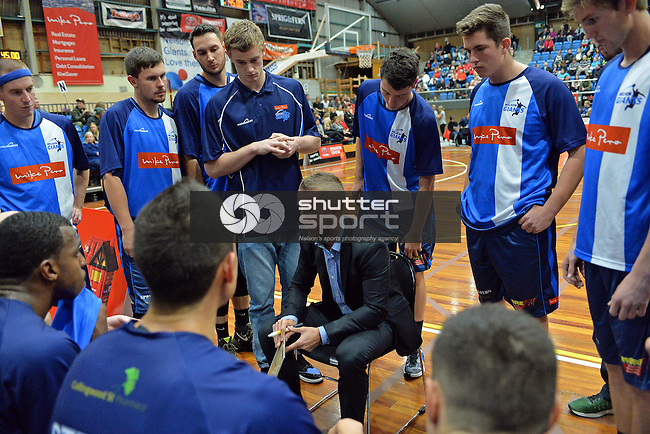NELSON, NEW ZEALAND - MAY 28: Nelson Giants v Wellington Saints. Trafalgar Centre, Nelson, New Zealand. Saturday 28 May 2016 (Photo by: Barry Whitnall/Shuttersport Limited)