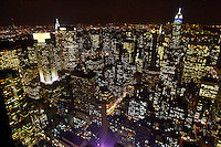 """Top Of The Rock Observation Deck - the Best Views of New York City from Rockefeller Center. Rockefeller Building or """" The Rock"""" as it is better know in New York City is a tourist favorite. The elevator ride is even more attractive at night..."""