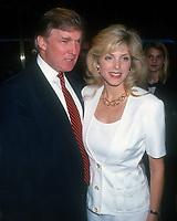 Donald Trump, Marla Maples, 1994, Photo By John Barrett/PHOTOlink