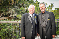 G.W. Bailey and Tony Denison, stars of TNT's The Closer and Major Crimes, with Sunshine Kids during the Once Upon a Time Childrens Gala at the Naples zoo .... photo/debi pittman wilkey