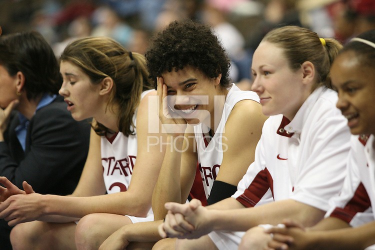 20 March 2006: Cissy Pierce during Stanford's 88-70 win over Florida State in the second round of the NCAA Women's Basketball championships at the Pepsi Center in Denver, CO.
