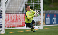 Jillian Loyden saves the penalty shot.