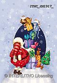 Marcello, CHRISTMAS SANTA, SNOWMAN, WEIHNACHTSMÄNNER, SCHNEEMÄNNER, PAPÁ NOEL, MUÑECOS DE NIEVE, paintings+++++,ITMCXM1917/,#X#