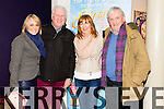 Lorraine McDonald, Ronan Collins,Dolores Skyrey and Tony Maher at the  showbands years at Simsa Tire on Sunday night