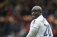 Adebayo Akinfenwa of Wycombe Wanderers during the Sky Bet League 2 match between Barnet and Wycombe Wanderers at The Hive, London, England on 17 April 2017. Photo by Andy Rowland.