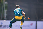 Corne Dry of South Africa misses a catch during Day 2 of Hong Kong Cricket World Sixes 2017 Cup Semi 1 match between  New Zealand Kiwis vs South Africa  at Kowloon Cricket Club on 29 October 2017, in Hong Kong, China. Photo by Yu Chun Christopher Wong / Power Sport Images