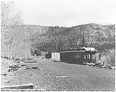 View of Vance Junction in disrepair.  Remains of RGS coach body depot with section house gone and no track.<br /> RGS  Vance Junction, CO