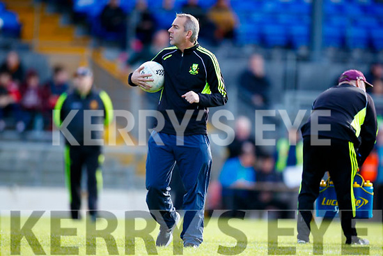 Pat O'Shea Dr Crokes Manager.  Crooks v  West Kerry in the Kerry Senior Football Championship Semi Final at Fitzgerald Stadium on Saturday.
