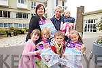 CHILDREN HELPING CHILDREN: A fun Ice Cream Party is being planned by the Earl of Desmond Hotel, Tralee this Sunday June 19th.  From front l-r were: Kelly Fitzgerald, Keelan Coffey, Thomas McGuire and Hollie Leane. Back l-r were: Margaret Brick, Claire Leane  and Taylor-kate Leane.