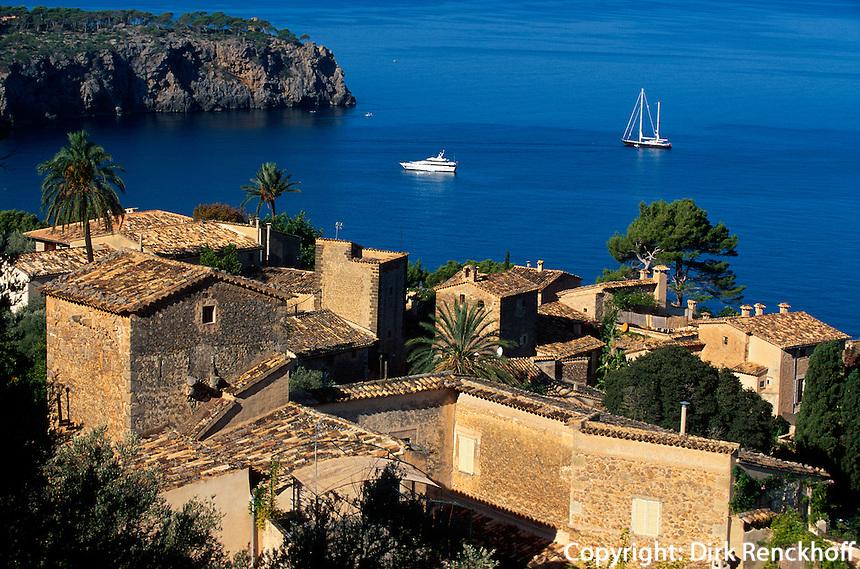 Spanien, Mallorca, Blick auf Lluc Alcari