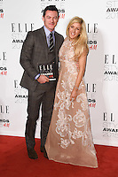 Luke Evans and singer, Ellie Goulding at the Elle Style Awards 2015 at Sky Bar, Walkie Talkie Building, London, 24/02/2015 Picture by: Steve Vas / Featureflash