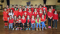 St David's Day, Year 6, at Newton Primary School in Swansea, Wales, UK. Wednesday 01 March 2017