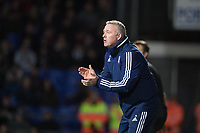 Paul Lambert, Manager of Ipswich Town encourages his team during Ipswich Town vs Accrington Stanley, Sky Bet EFL League 1 Football at Portman Road on 11th January 2020