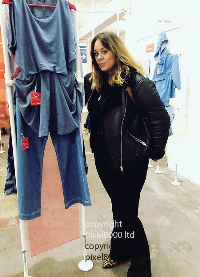 pic shows: Laureline Garcia-Bertaux<br /> <br /> Seen showing her fashion portfolio<br /> <br /> <br /> <br /> <br /> Picture by Pixel8000 07917221968
