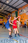 Nessa Sheehy Team Den Joes American Style attempts a lay up against NUIG Mystics in Castleisland on Saturday night