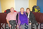 Abbeyfeale Tea Dance in aid of Fr. Tim Galvin of Abbeyfeale for his work in schools in South Sudan as part of Abbeyfeale for Africa, which took place on Sunday in Fr. Casey's GAA clubhouse in Abbeyfeale.  Pictured L-R were : Tony and Teresa Dore and Shelly Broderick of Duagh.