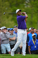 Harold Varner III (USA) watches his tee shot on 6 during round 4 of the 2019 PGA Championship, Bethpage Black Golf Course, New York, New York,  USA. 5/19/2019.<br /> Picture: Golffile | Ken Murray<br /> <br /> <br /> All photo usage must carry mandatory copyright credit (© Golffile | Ken Murray)