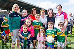 Caitriona Hanafin, Katie Gentleman, Gerald O'Grady, Maeve Gentleman, Gillian Gentleman, Cody Shanahan, Clodagh Coughlan, Kit Ryan, Sean Dennehy O'Shea, Elaine Dennehy, Roisin Coughlan and Daithí Coughlan, pictured at the Kerry Team Open Day Meet and Greet, at Fitzgerald Stadium, Killarney on Saturday last.