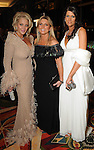 From left: Honoree Kristi Schiller with Susanne Gubert and Shanna Brown at the Winter Ball at the Hilton Americas Hotel Saturday Jan. 22,2011.(Dave Rossman/For the Chronicle)