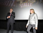 "Stewart F. Lane and Bonnie Comley attends the BroadwayHD's ""42nd Street"" Screening at the AMC Empire 25 Theatres on April 16, 2019 in New York City."