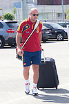 01.06.2012.. Arrival of the players in the Spanish football team squad for the European Championship in Poland and Ukraine to the Ciudad del Futbol of Las Rozas, Madrid. In the image Pepe Reina (Alterphotos/Marta Gonzalez)